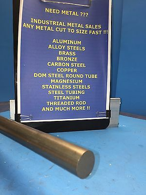 1 Diameter X 6-long C1018 Steel Round Bar--1.0 Diameter 1018 Steel Rod