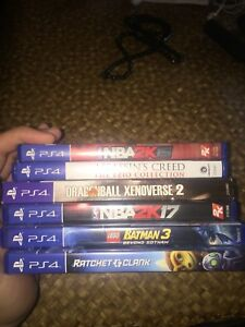 Ps4 Games for Sale or maybe Trade