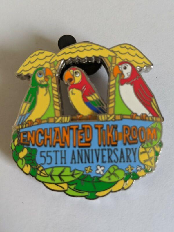 Enchanted Tiki Room 55th Anniversary DLR Disneyland Resort LE Disney Pin