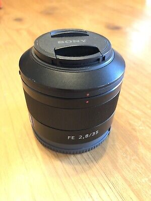 Sony Zeiss Sonnar T SEL35F28Z 35-35mm F/2.8 ZA FE Lens - Great Condition