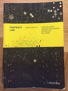 Contract Law - 4th Edition - Willmott, Christensen, Butler, Dixon Lower Beechmont Ipswich South Preview