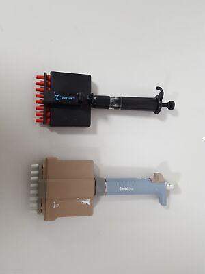 2x Titertek 8-channel Multichannel Pipette Plus Lab