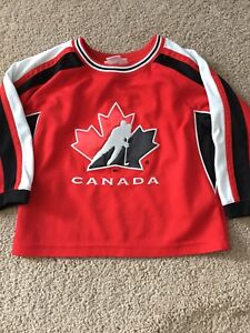 Size 2t- team canada jersey