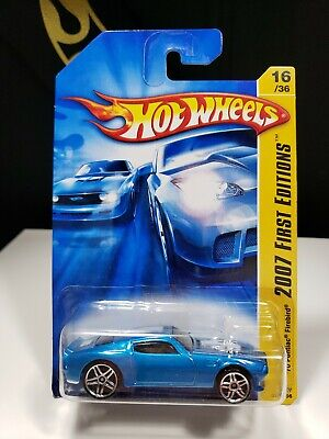 2007 HOT WHEELS FIRST EDITIONS BLUE