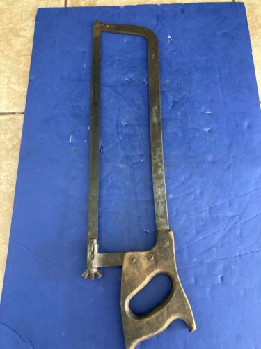 Antique German bone saw