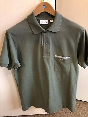 mens Authentic lacoste polo shirt in Excellent condition