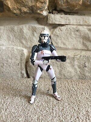 Star Wars Black Series Custom Wolffe Pack Clone Trooper