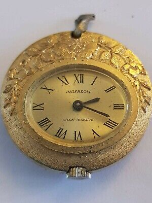 Vintage Ingersoll Mechanical Pendant/Pocket Watch