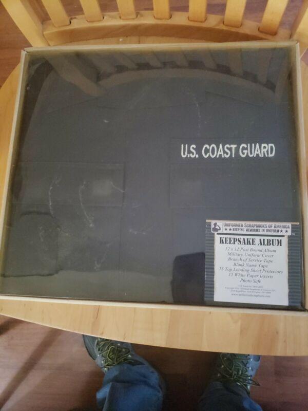 Uniform Scrapbooks Of America coast guard Keepsake Album