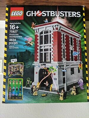 LEGO 75827 Ghostbusters Firehouse Headquarters Brand New Outer Wear see desc