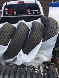 4 Free Hankook tires.