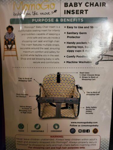 Momogo baby chair insert - variety 4- 24 +months- Sanitary, carts,highchair,rest