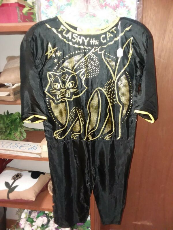 Vintage Flashy The Cat Halloween Costume, no box, no mask
