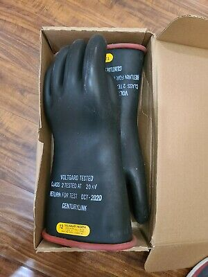 Salisbury Gloves Size 12 D120 Class 2type I17000v Lineman Electrical Gloves