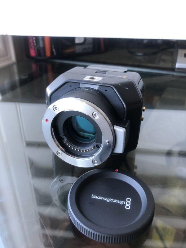 Blackmagic Design Micro Studio Camera 4K MFT Mount - Good ++ w/ Battery 2.2