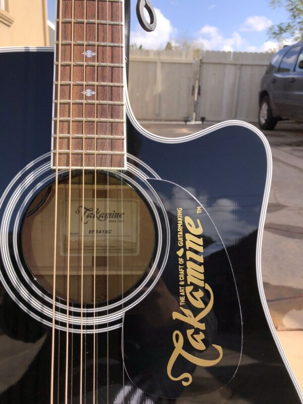 Takamine Pickguard Logo/ READ DESCRIPTION