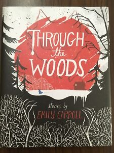 "Bande dessinée ""Through the woods"""