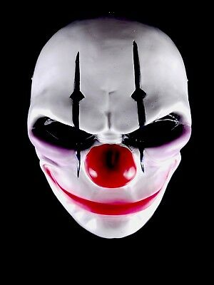 Payday 2 Halloween Chains Costume Mask High Quality Resin Clown Prop Cosplay - Payday 2 Halloween Masks
