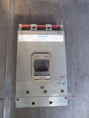 GOULD CIRCUIT BREAKER I-T-E HK3-F120 HK3F120 3 POLE 600 V TA4P500 600 A 600a amp