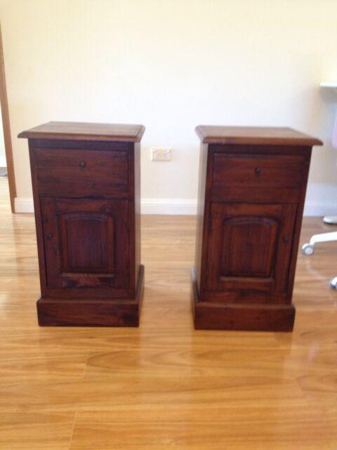 Fine 2 X Bedsides Price Is Total For Both Bedside Tables Home Interior And Landscaping Fragforummapetitesourisinfo