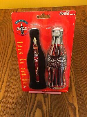 MIP VINTAGE COCA~COLA YELLOW HIGHLIGHTER COKE BOTTLE PEN *RARE*