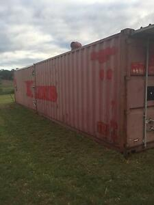 40 ft' high Freight  CONTAINER CONVERTED TO SITE OFFICE Newcastle East Newcastle Area Preview