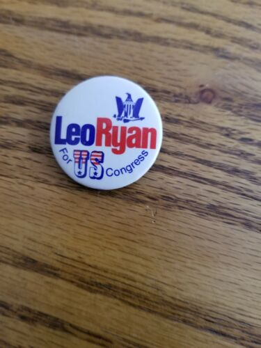 Leo Ryan button