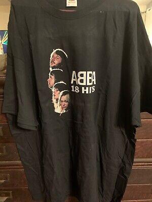 ABBA T Shirt Official Merchandise Size. XXXL 3x