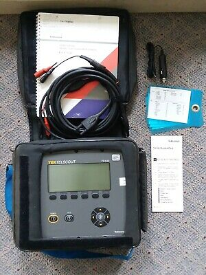 Tektronix Tek Telscout Ts100 Time Domain Reflectometer - Used. Cable Fault Tdr