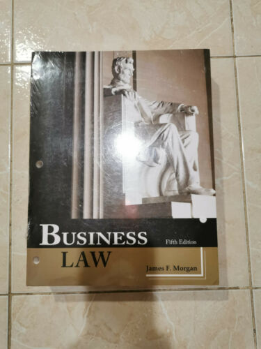 Business Law Paperback (fifth Edition) James F. Morgan/new
