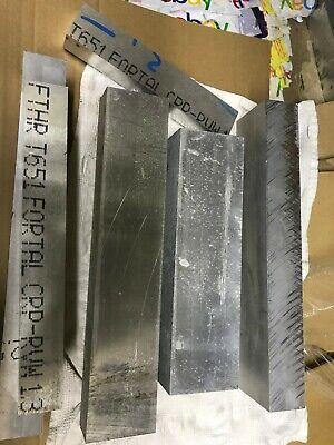 Aluminum Plate 30 Pound 7075 Qc10 7075 T651 Longer Scrap Plate Bar Block
