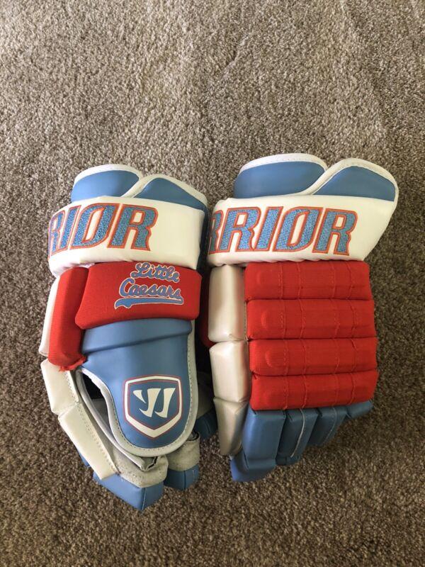 New Pro Stock Detroit Little Caesars Warrior Hockey Gloves