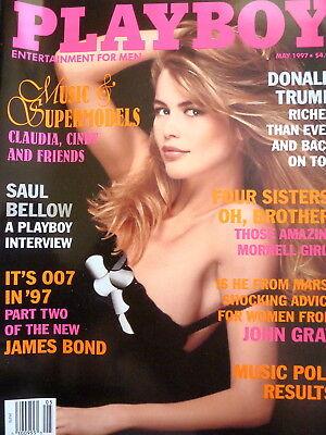 PLAYBOY MAGAZINE - Donald Trump - May 1997