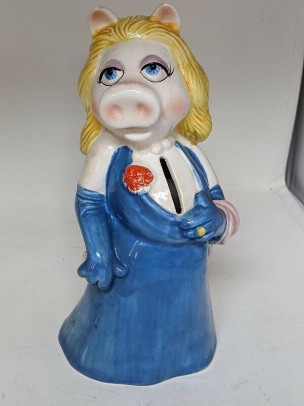 Miss Piggy Coin Bank Muppets Sigma Tastesetter Vintage