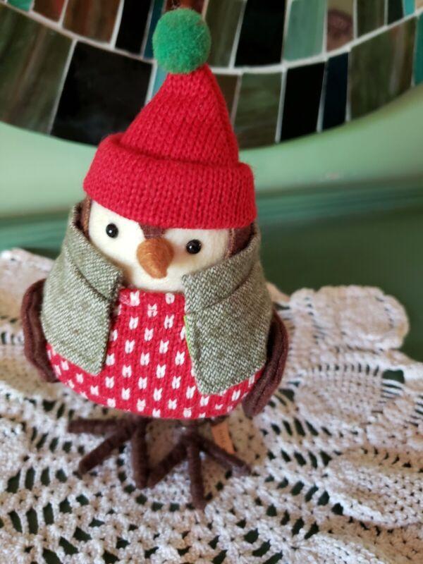 Featherly Friends Bird Target 2016 Blazer Fabric Figurine Wondershop Collectable