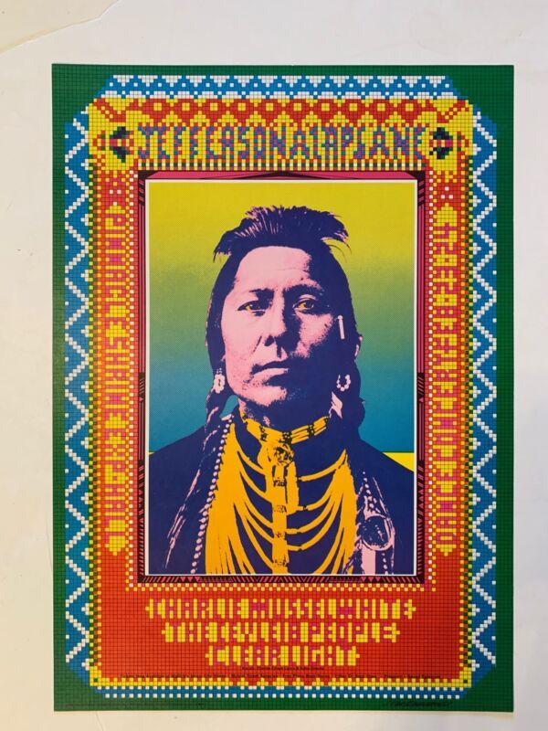 Jefferson Airplane Concert Poster 1968 Shrine Auditorium