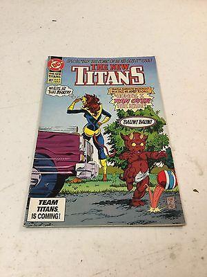 The New Titans #87 DC Comics Honey I Ran Over The Kid Bauw Bauw