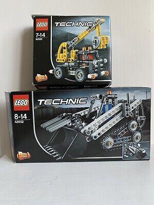42032 & 42031 Lego Technic Bundle