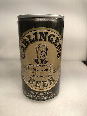 12 oz Gablingers pull tab beer can USBC 66-35