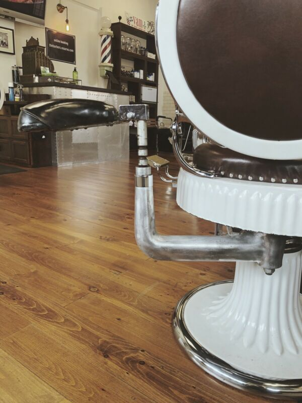 Paidar barber chair Side Seat