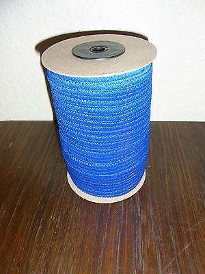 (0,25€/m) blaues Band/Borte 1,8cm breit 100m auf einer Rolle