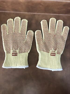 12pairs North Grip-n-hot Mill 517457 10xl Glove Wnitrile Coat On Both Sides