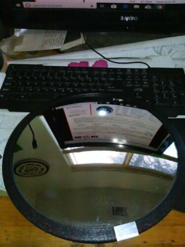 Indoor / Outdoor Convex Mirror,Circular,12 in