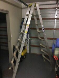 Baileys Large Step Ladder, aluminium