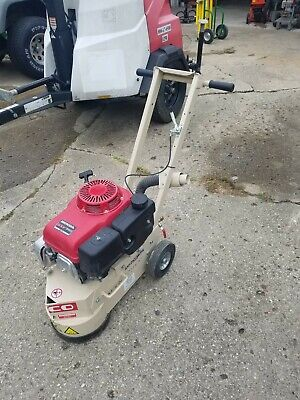Edco Tg-10-11h Gas Powered 10in Concrete Grinder W 11hp Engine Runs Great