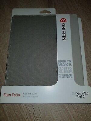 Griffin GB03914 Elan Folio Case Colorblock Canvas S für Apple iPad2/3/4 Griffin Elan Folio