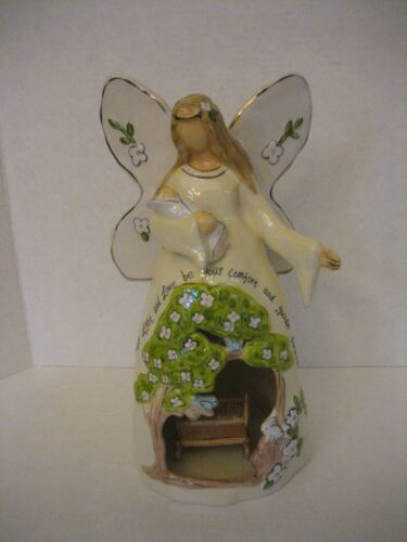 Blue Sky May Light and Love be your Comfort and Guide Forever Angel Figurine NW