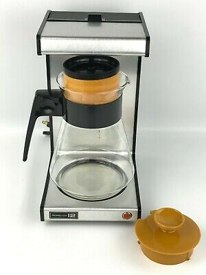 Norelco 12 Cup Coffee Maker Brewer 1500 Watt Tested Works