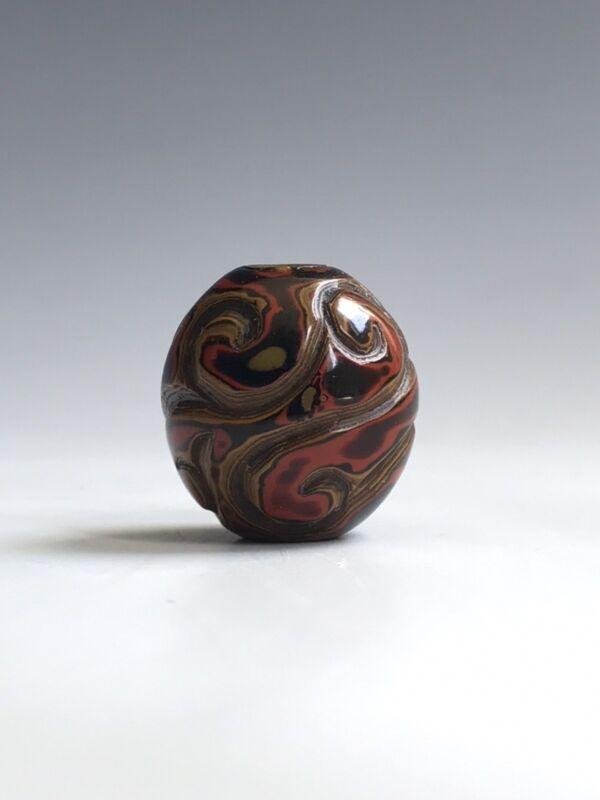 An Antique Tixi Lacquer Collectable Bead