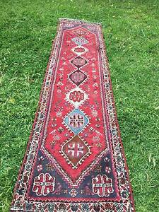 PERSIAN HAND KNOTTED RUNNER Angle Park Port Adelaide Area Preview